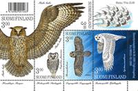 Finland owls mint s/s 1998