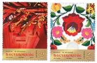 Hungary - Stamp day - Cancelled set 2v