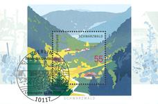 Tyskland - Schwarzwald - Miniark postfrisk
