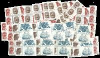 Sweden 55 øre - Stamp packet - 100 Mint stamps