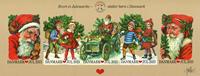 Danemark - Vignettes de Noël 2013 - Feuillet géant neuf