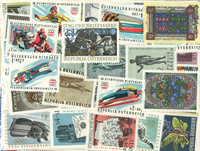 Austria Schilling 240 different stamps