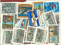 Austria Schilling 202 different stamps