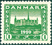 Denmark - Letter Press - AFA no. 115