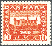 Denmark - Letter Press - AFA no. 112