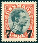 Denmark - Letter Press AFA 158