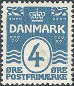 Danmark - AFA nr. 80A - Bogtryk