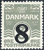 Denmark - Letter Press - AFA no. 117