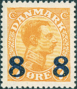 Denmark - Letter Press - AFA no. 118