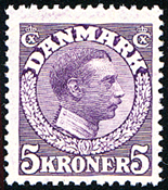 Denmark - Letter Press - AFA no. 110