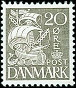 Danmark - Stålstik - AFAf nr. 204