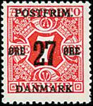 Danmark - AFA nr. 87 - Bogtryk