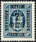 Denmark - Letter Press - AFA no. 166