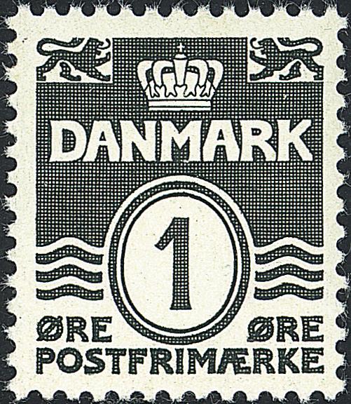 Danmark - AFA nr. 196 - Stålstik