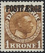 Danmark - 1919. Postfærge. AFA nr. PF4