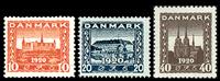 Danmark 1920 - AFA nr. 112-14 - Genforeningen