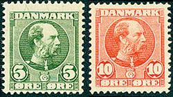 Danmark 1905-06 - AFA nr.52-53 - Postfrisk
