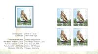 Letland - Rovfugle - Postfrisk hæfte