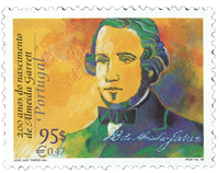 Portugal - A. Garrett - Postfrisk frimærke