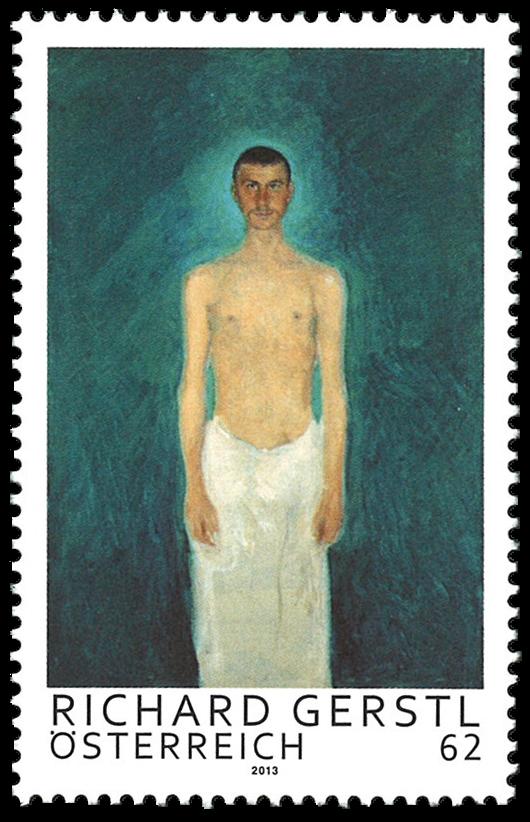 Østrig - Richard Gerstl - Postfrisk frimærke