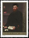 Østrig - Lorenz I.Bordogna - Postfrisk frimærke