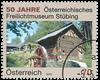Østrig - Frilandsmuseet Stübing - Stemplet frimærke