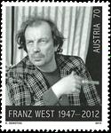 Østrig - Franz West - Postfrisk frimærke