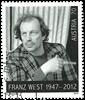Østrig - Franz West - Stemplet frimærke
