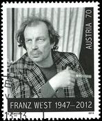 Austria - Franz West (1) # - cancelled