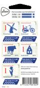 Holland - Nationalsymboler - Postfrisk selvkl. sæt 5v