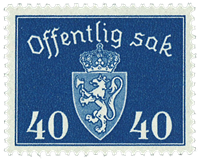 Norway - AFA no. Tj57 - Mint