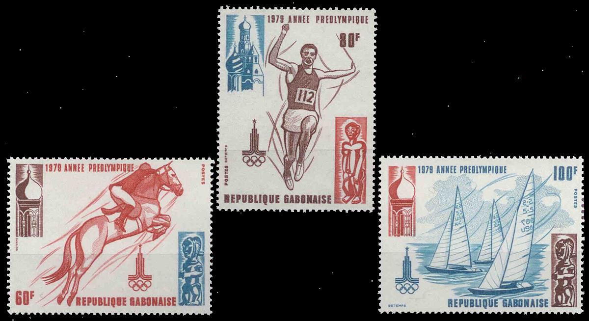 Gabon - YT 415-17