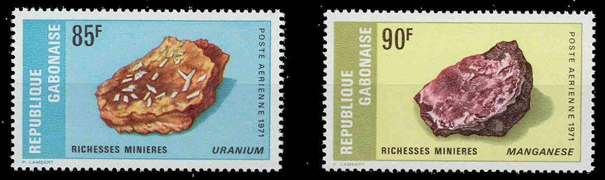 Gabon - YT PA118/19