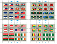 United Nations Flag - 1982 - cancelled sheet
