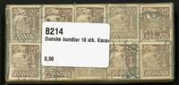 Danmark - bundter - Karavel 25 øre - 10 stk.