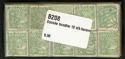 Danmark - bundter - 10 stk. Karavel - 40 øre