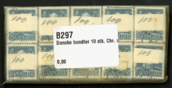 Danmark - bundter - Chr. x 75 øre - 10 stk.
