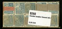 Danmark - bundter - Karavel blå 40 øre - 10 stk.