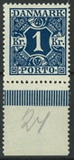 Danmark - Porto - AFA nr. 15