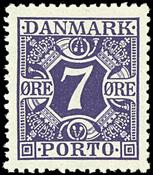 Danmark - Porto - AFA nr. 21