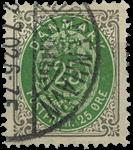 Danmark 1895 - AFA nr.29By - Stemplet