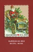 Danemark - Vignettes de Noël 2013 - Carnet neuf 30v