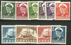Danmark - Kong Frederik & Gustav Holm postfrisk