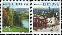 Litauen - Europa 2012 - Postfrisk sæt 2v