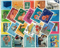 Curacao/Dutch Antilles - 100 different