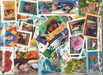 Australien - frimærkepakke 500 forskellige