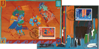 Liechtenstein Cept 1992 - Maxi cards