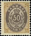 Danmark 1895 - AFA nr.30B ubrugt