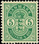 Danmark 1895 - AFA nr.34B ubrugt
