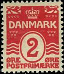 Danmark 1905-06 - AFA nr.43 postfrisk